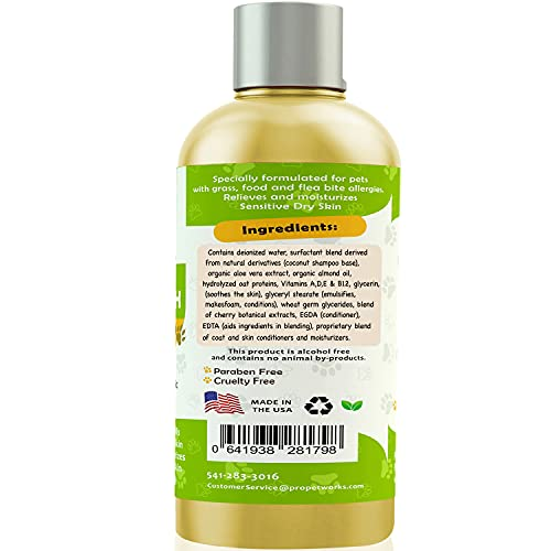 Product Image 3: Pro Pet Works Natural Organic 5 in One Oatmeal Pet Shampoo + Conditioner