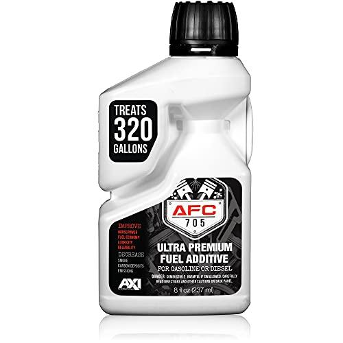 AFC-705 (8oz) Ultra Premium Fuel Additive - 320 Gallon Treatment - Enhances & Stabilizes Fuel –...