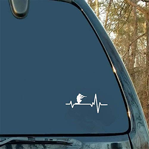 15 x 7 cm Shooting Soldier grafisch pistool autosticker decoratie motorfiets buitenaccessoires voor Mercedes