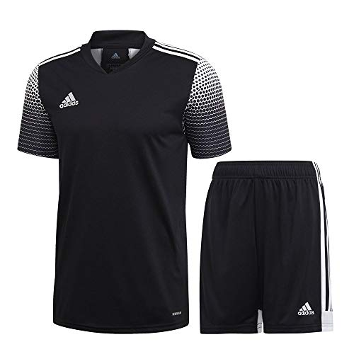 adidas Fußball Regista 20 Trikotset Trikot Shorts Trainingsset Kinder schwarz Gr 164