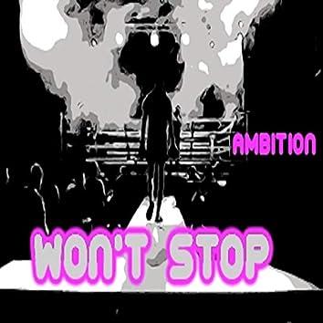 Won't Stop