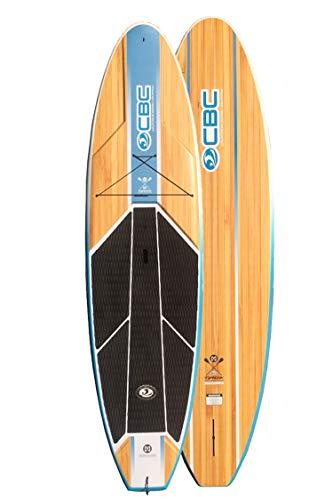 California Board Company 10'6 Typhoon Fiberglass Paddle Board w Board Bag & Paddle (415TYPHOON)
