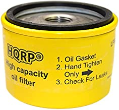 HQRP Oil Filter compatible with Briggs & Stratton 492932S, 696854, 795890, 695396, 92134, 7045184, 492056 Replacement Riding Mower, Lawn Tractor Engines