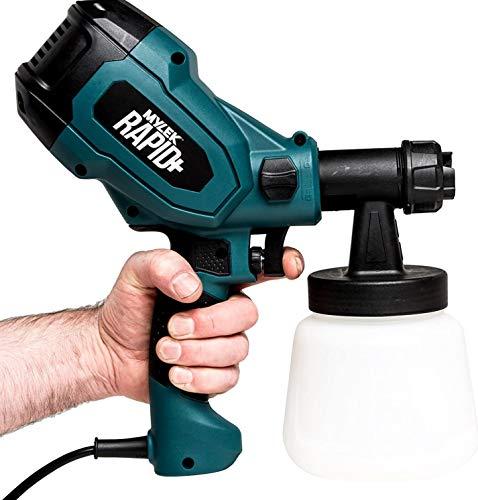 MYLEK Electric Paint Sprayer Gun 400W Indoor, Outdoor, Home or Garden,...