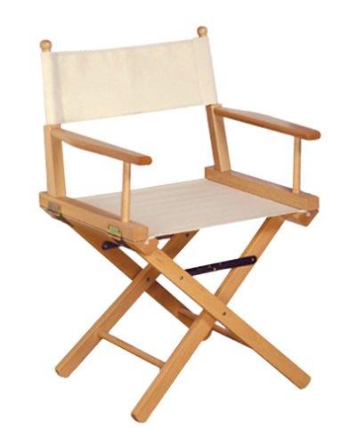 Chaise pliante en bois massif.