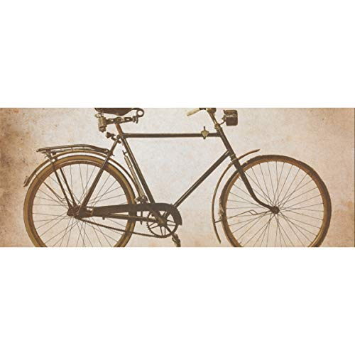 Retro faszinierende Fahrrad Geschenkpapier 58x23inch 2 Rollen Geschenkpapier Geschenk flach Weihnachten Geschenkpapier für Muttertag Ostern Hochzeiten Geburtstage oder jede Gelegenheit