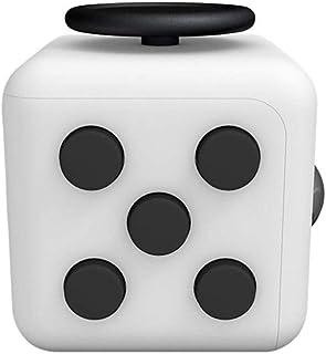 大人気!6面体 フィジィットキューブ おもちゃ Fidget Cube キューブ ストレス解消 キューブ スイッチ リリーフ ルービックポケットゲーム デスクトイ ダイス さいころ型 超耐久 不安 緊張 手持ちポケットゲーム 手持ち無沙汰を解消する玩具