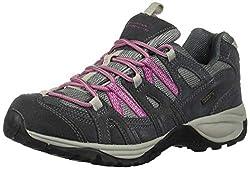 Mountain Warehouse Direction Schuhe für Damen - Wasserfeste Regenschuhe, Bequeme Damenschuhe, gepolsterte Allwetterschuhe - Zum Spazierengehen, Trekken und Wandern Dunkelgrau 38 EU