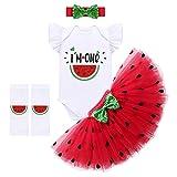 FYMNSI Pijama de algodón de manga corta para bebé, diseño de sandía para el...