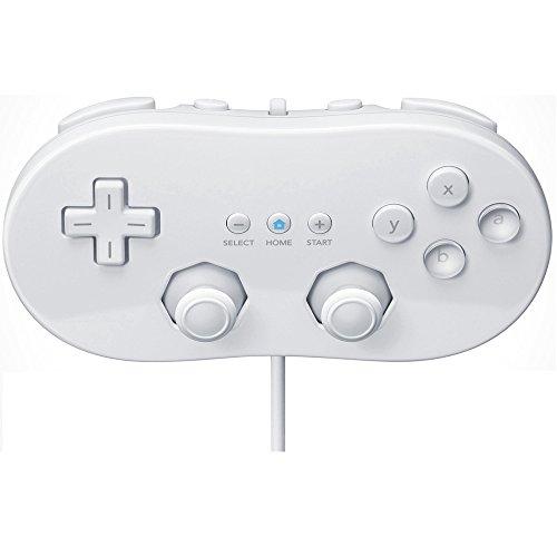 Mando Classic controller válido para Nintendo Wii color Blanco, Mando Clásico, Gamepad