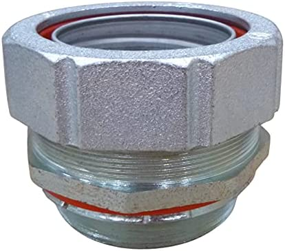 Malleable Liquidtight Straight Dedication Connector insulated - Indefinitely throat Sea