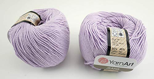 YarnArt Jeans Garn Baumwollgarn Amigurumi Babygarn Wolle 50g Yarn Art 160m/50g (19)