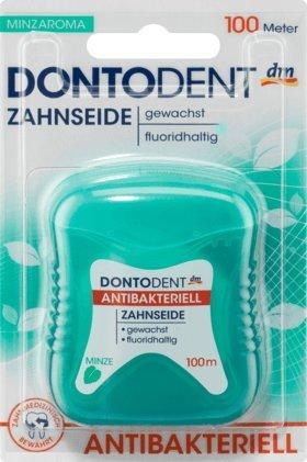 Zahnseide antibakteriell, 100 m