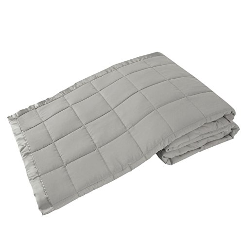 Elite Home Products Down Down Alternative Solid Blankets, Full/Queen, Grey