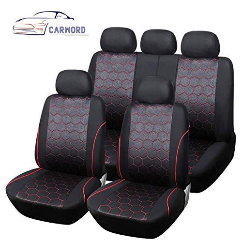 Protector universal de la cubierta del asiento del automóvil Bolsa de aire 100% transpirable Compatible con juego completo Absorbente, antideslizante,lavable,para automóviles,SUV y camiones,Fit-Towel