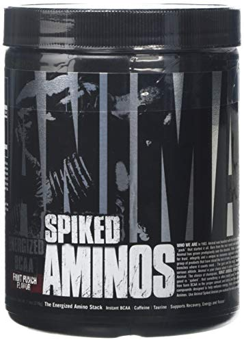 Universal Nutrition Animal Spiked Aminos Supplement, 210 g, Fruit Punch