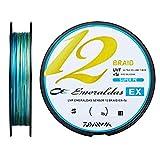 ダイワ(DAIWA) PEライン UVFエメラルダスセンサー12ブレイドEX+Si 0.6号 150m 3カラー(カラーマーキング付)