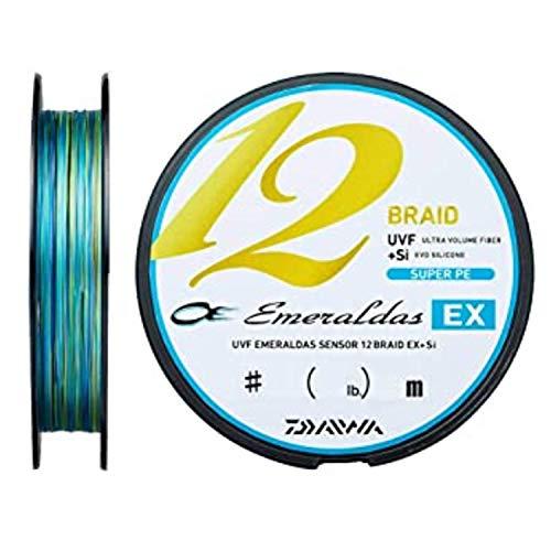 ダイワ UVF エメラルダスセンサー 12ブレイドEX+Si 150m 0.8号