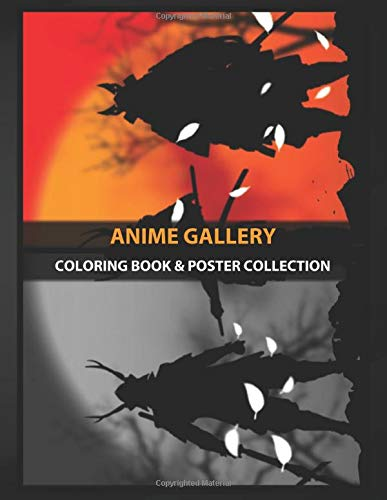 Coloring Book & Poster Collection: Anime Gallery Samurai War Home Decoration Appearance After The War I Anime & Manga