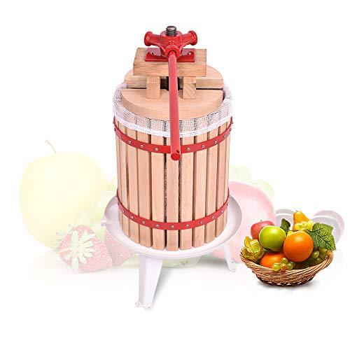 Aufun 18L Obstpresse Fruchtpresse Weinpresse Saftpresse Maischepresse Obstmühle (Obstpresse, 18L)