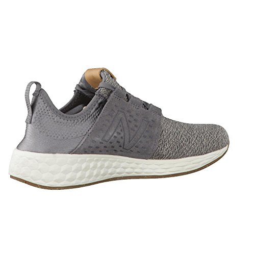New Balance Fresh Foam Cruz, Chaussures de Fitness Homme, Gris (Grey/White), 9 UK EU