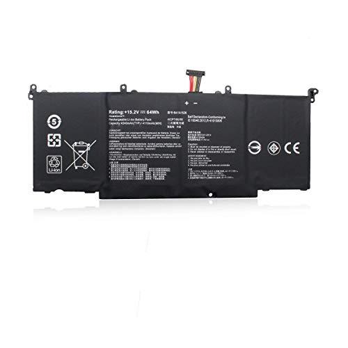 Hubei B41N1526 Laptop Akkus für ASUS ROG Strix FX502VD FX502VE FX502VM GL502VM GL502 GL502V GL502VT GL502VT-1A S5 S5VT6700(15.2V 64Wh)