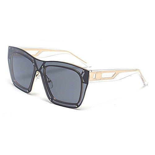 Belleashy Gafas de sol para mujer, estilo vintage, polarizadas 100% protección UV, para conducir, ciclismo, correr, pesca, golf, uso diario (color: gris)