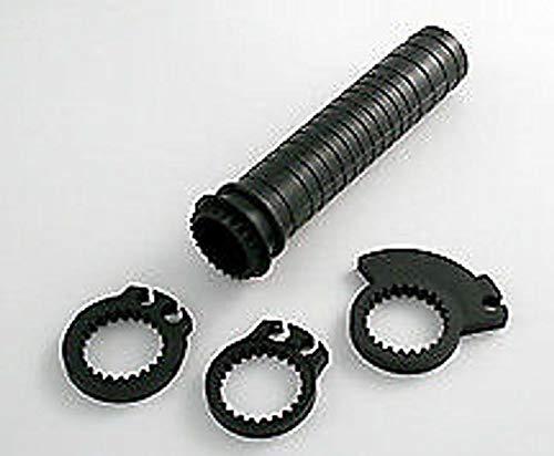ShinYo Motorradgriffe Gasgriffdrehhülse universal für 22mm Lenker, Unisex, Multipurpose, Ganzjährig, Kunststoff, schwarz