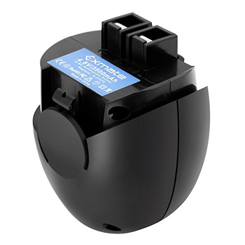 Exmate 4,8V 3,5Ah Ni-MH batteria di ricambio per Metabo 6.27270 6.27271 6.27273 6.31858 60005952 631858000 PowerGrip 2 Powermaxx