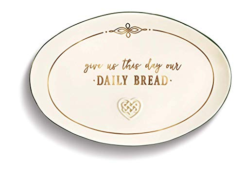Grasslands Road Give Us This Day Our Daily Bread Celtic Plate, 8' x 12'