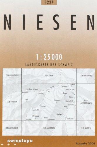 1227 Niesen: Erlenbach i. S. -Diemtigtal - Frutigen (Landeskarte 1:25 000)