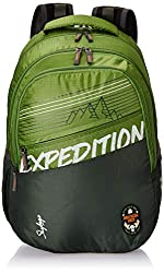 Skybags Bingo Extra 01 32 Ltrs Green Casual Backpack (Bingo Extra 01),Vip Industries Ltd,Bingo Extra 01,bagpack,bagpack for women,bagpacks,bagpacks for college,bagpacks for girls stylish,pubg bagpack level 89,wildcraft bagpacks