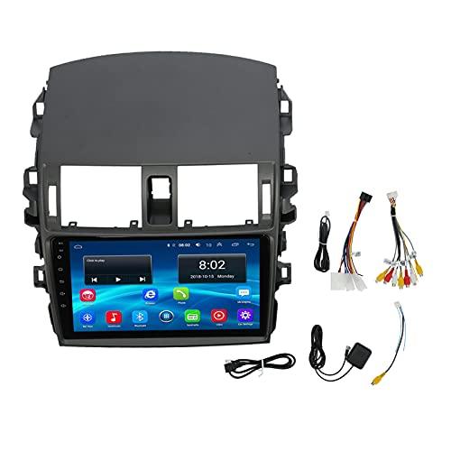 Reproductor de video, reproductor de video de 9 pulgadas, navegación por radio de coche, multimedia para Android 10.0 para E140 2006-2013(1 + 16G)