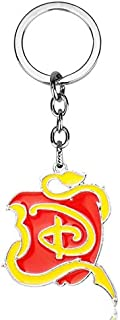 Keychains Snow White Enamel Metal Keychain Fashion Once Upon A Time Alloy Key Ring Key Chain Car Bag Keyring Keyholder
