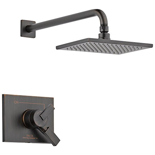 Delta Faucet T17253-RB Vero 17 Series Dual-Function Trim Kit with Single-Spray Touch-Clean Rain Head, Venetian Bronze Shower Only, 15.28 x 7.09 x 15.28 inches