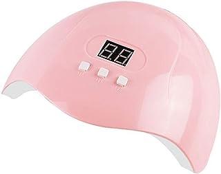Dantazz 54 W UV LED Rosa Sensor Secador de Uñas Sensor Infrarrojo Lámpara de Secado de Uñas Lámpara de Esquí Luz Esquinas Gel Polish Secador rosa rosa