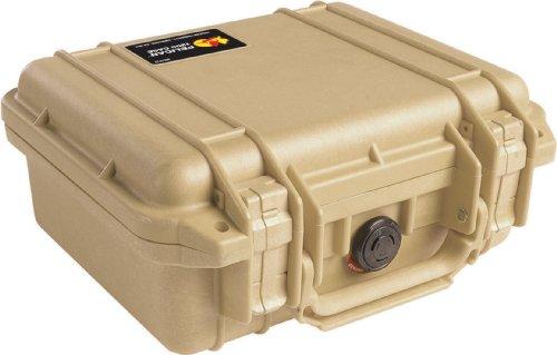 Pelican 1200 Camera Case With Foam (Desert Tan)
