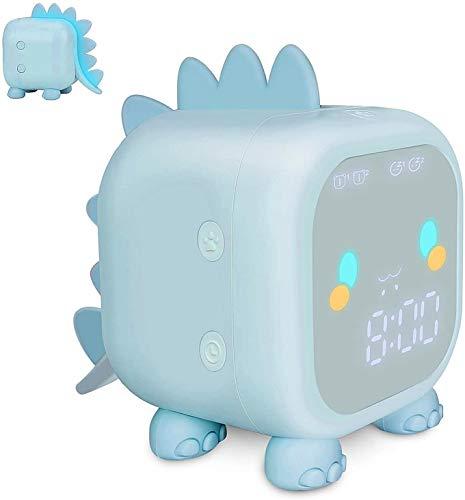 AeeYui Sveglia Digitale,Sveglia Digitale con LED Temperatura Display Orologio,Intelligente a LED Elettronica Orologio da Comodino, Snooze, Controllo Vocale, USB Ricaricare,12 24 Ore,Dire l ora