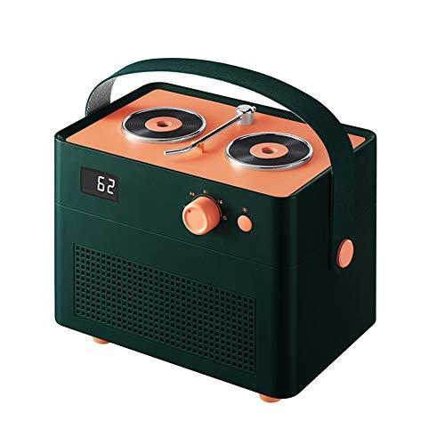 ZWW Mini Humidificador De Aire, Humidificador De Escritorio Personal Silencioso 1300Ml con 2 Boquillas De Niebla Y Luz Nocturna | Humidificador USB Portátil para Oficina Coche Dormitorio Bebé,1 Green