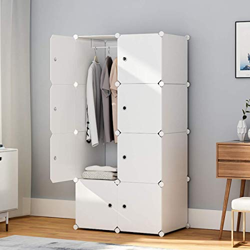 "KOUSI Portable Wardrobe Closets 14""x18"