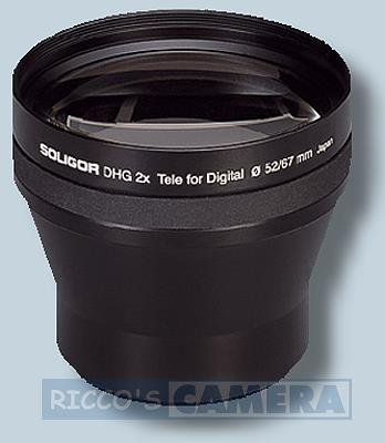 Soligor 65205schwarz Kamera Objektiv Filter für Kamera Objektive und Filter (5/3, schwarz, 5,2cm, 6,8cm, 280g, 2x)