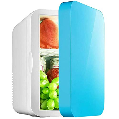 RSTJ-Sjef Mini Refrigeradores 6L para Uso En El Hogar, Refrigerador De Automóvil De Función Fría Y Caliente De 12V / 220V, Caja Fría Portátil para Automóvil, Hogar Y Uso De Viaje En Automóvil