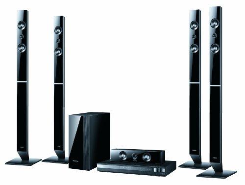 Samsung HT-D455 5.1 DVD-Heimkinosystem (USB, HDMI, 1080p) schwarz