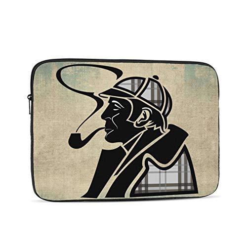 She-rlock Holmes Waterproof Computer Bag Laptop Case Laptop Tablet Tote Travel Briefcase 12 inch Black
