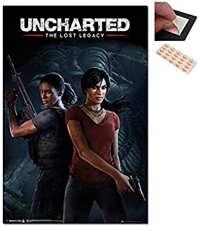 Uncharted The Lost Legacy Cover Poster - 91.5 x 61cms (36 x 24 Inches)