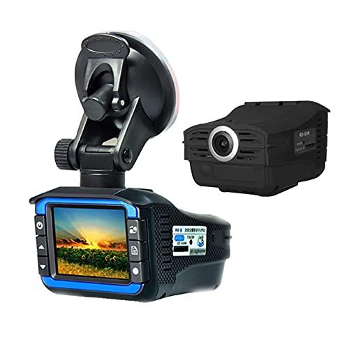 Man-hj per Adulti 2in1 Full HD Auto DVR Telecamera Radar Radar Rilevatore di velocità GPS Videocamera Video Recorder Dash Cam con G-Sensor Night Version DVR DVR