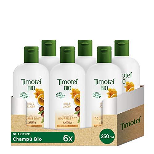 Timotei Bio Champú Nutritivo Para Cabello Seco 250 ml - Pack de 12
