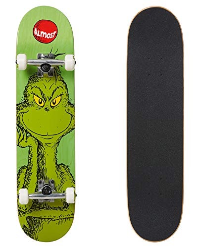 Almost Dr. Seuss Grinch Youth Mid Komplett 7,25x29,2