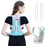 Posture Corrector for Women and Teens - Posture Straightener, Adjustable Back Brace for Clavicle Support and Providing Pain Relief from Neck, Back, Spine and Shoulder M