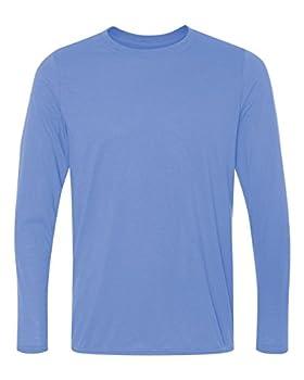 Gildan Performance� 4.5 oz Long-Sleeve T-Shirt - CAROLINA BLUE - M